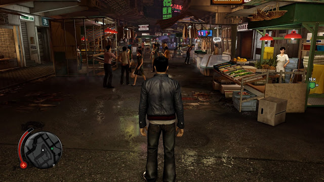 Imagem de gameplay de Sleeping Dogs