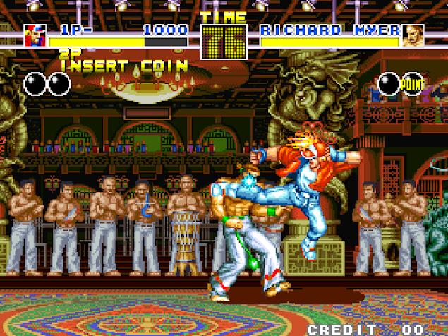 Gameplay de Fatal Fury 1w