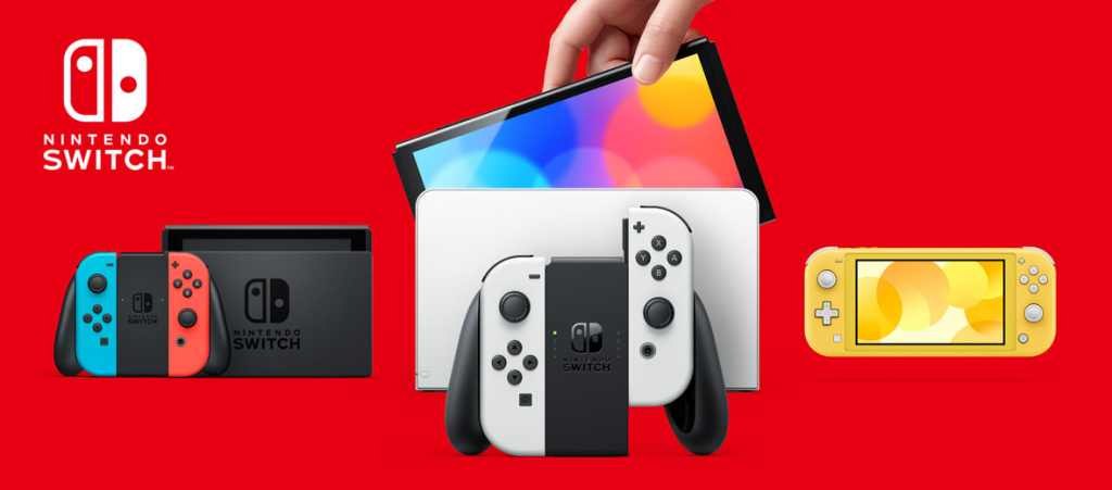 Todos os Nintendo Switch